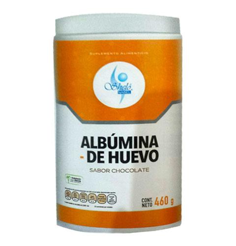 PROTEINA DE ALBUMINA DE HUEVO 460 GR.SABOR CHOCOLATE PVO